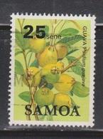 SAMOA Scott # 611 Used - Fruit - Guava - Samoa