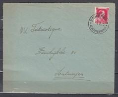 Briefstuk Van Zomergem Azaleas En Rozen Naar Antwerpen - Cartas