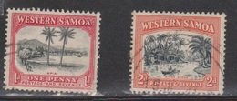 SAMOA Scott # 167-8 Used - Various Scenes - Samoa