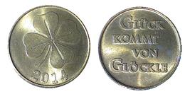 02205 GETTONE TOKEN JETON AUSTRIA? LUCKY TOKEN GLUCK KOMMT VON GLOCKLE 2014 - Germany