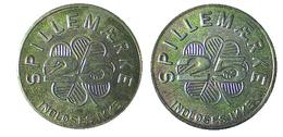 02417 GETTONE TOKEN JETON DENMARK AMUSEMENT SPILLEMARKE 25 INDLOSES IKKE - Unclassified