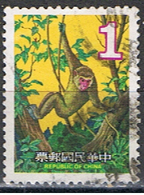 TAIWAN 53 // YVERT 1263 // MONKEY // 1979 - Gebraucht