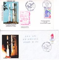 France Ariane V45 Enveloppes ESA - Europe