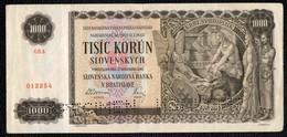 1000 SLOVAQUIE 1940 Spécimen - Slowakei