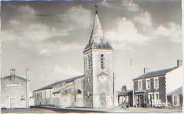 85 Vendée, Ile De Noirmoutier, L'Epine, L'église Et La Place, Editions Marlin N°293, Dos Divisé, N'a Pas Circulé, TBE - Ile De Noirmoutier
