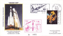 France Ariane V49 Enveloppes ESA - Europe