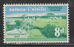 SAMOA Scott # 228 MNH - Airport - Independence Issue 1962 - Samoa