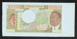 10000 GABON Epreuve Uniface - Gabon