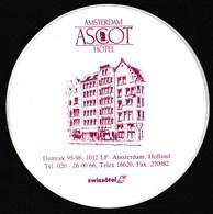 Netherlands / Amsterdam Ascot Hotel / Sticker - Stickers
