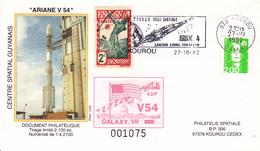 France Ariane V54 Enveloppes ESA - Europe