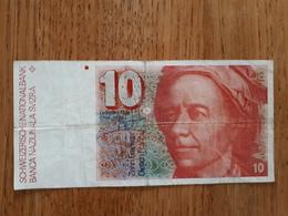 Billet 10 Fr Suisse En Bon état - Switzerland