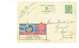 Publibel  - TELEFUNKEN - 0033 - Stamped Stationery