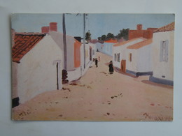 Carte Postale : 85 ILE D'YEU :  Port Joinville, La Rue Du Paradis, Huile De Paul Nassivet - Ile D'Yeu