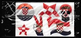 Croatia / Stickerfaces / Fun Face / Football / Sticker - Stickers