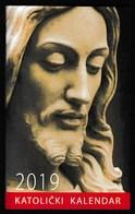 Pocket Calendar / Croatia 2019 / Catholic Calendar / Jesus - Calendars
