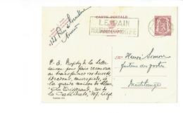 Publibel 455  - LE TISSERAND - 0037 - Stamped Stationery