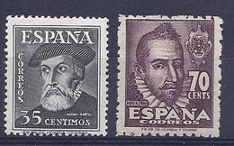 190031299   ESPAÑA  EDIFIL  Nº   1035/9  */MH - 1931-50 Ungebraucht
