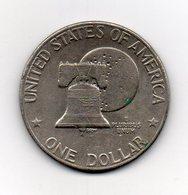 "Stati Uniti -  1976 - 1 Dollaro ""Eisenhower"" - Bicentenario - Vedi Foto - (MW2340) - Emissioni Federali"
