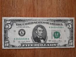 Billet De 5 Dollard US De 1977  En Très Bon état - Confederate Currency (1861-1864)