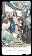 VECCHIO SANTINO  -  S. FELICE DI CANTALICE - HOLY CARD ( H221 ) - Devotieprenten