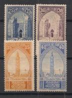 Maroc - 1917 - N°Yv. 70 - 71 - 72 - 73 - 4 Valeurs - Chella / Marrakech - Neuf Luxe ** / MNH / Postfrisch - Maroc (1891-1956)