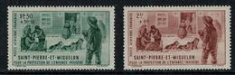St.Pierre Et Miquelon // 1942 // Poste Aérienne No. 1-2 Y&T  Timbres Neufs ** MNH (sans Charnière) - Poste Aérienne