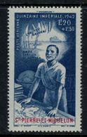 St.Pierre Et Miquelon // 1942 // Poste Aérienne No.3 Y&T  Timbres Neufs ** MNH (sans Charnière) - Poste Aérienne