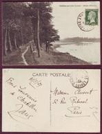 CPA - 45 - Châtillon-sur-Loire (Loiret) - Allées D'Ousson - Chatillon Sur Loire
