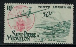 St.Pierre Et Miquelon // 1947 //  Poste Aérienne No.18 Y&T  Timbres Neufs ** MNH (sans Charnière) - Poste Aérienne