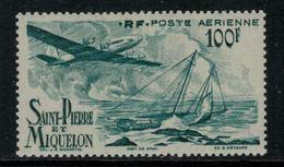 St.Pierre Et Miquelon // 1947 //  Poste Aérienne No.19 Y&T  Timbres Neufs ** MNH (sans Charnière) - Poste Aérienne