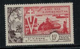 St.Pierre Et Miquelon // 1954 //  Poste Aérienne No.22 Y&T  Timbres Neufs ** MNH (sans Charnière) - Poste Aérienne