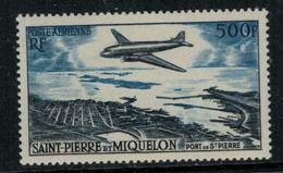 St.Pierre Et Miquelon // 1956 //  Poste Aérienne No.23 Y&T  Timbres Neufs ** MNH (sans Charnière) - Poste Aérienne