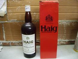 Bottiglia Whisky Haig Gold Label 1 Litro Con Confezione - Anni 70 - Spiritueux