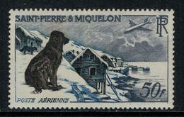 St.Pierre Et Miquelon // 1957 //  Poste Aérienne No.24 Y&T  Timbres Neufs ** MNH (sans Charnière) - Poste Aérienne