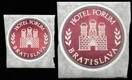 Slovakia / Hotel Forum Bratislava / Sticker - Stickers