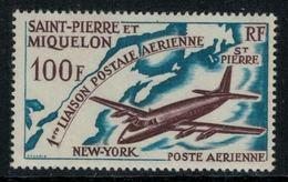 St.Pierre Et Miquelon // 1964 //  Poste Aérienne No.31 Y&T  Timbres Neufs ** MNH (sans Charnière) - Neufs