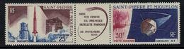 St.Pierre Et Miquelon // 1966 //  Poste Aérienne No.33-34 Y&T  Timbres Neufs ** MNH (sans Charnière) - Poste Aérienne