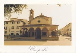 Italia Formato Grande:Cartolina EMPOLI - Santuario Della Madonna Del Pozzo . Viaggiata . - Empoli