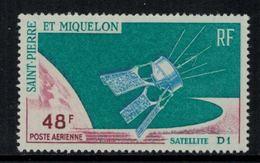 St.Pierre Et Miquelon // 1966 //  Poste Aérienne No.35 Y&T  Timbres Neufs ** MNH (sans Charnière) - Poste Aérienne