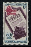 St.Pierre Et Miquelon // 1966 //  Poste Aérienne No.37 Y&T  Timbres Neufs ** MNH (sans Charnière) - Poste Aérienne