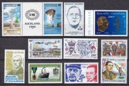 NCE - Lot De Timbres TB De Gaulle Et 2 ème Guerre Mondiale - Neukaledonien