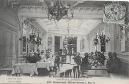 Cafe Restaurant De La Cigale Boniface Proprietaire 124 Boulevard Rochechouart Cpa En Bon état - Cafés, Hôtels, Restaurants