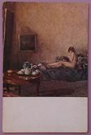 ADRIANA MIANI - Nel Mio Studio - Milano, Esposizione Società Per Le Belle Arti - 1916  Epoca Nv Art Nude Girl - Paintings