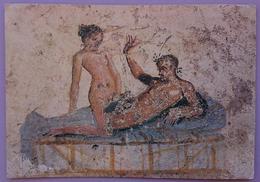 EROTIC SCENE - POMPEI SCAVI - Lupanare, Scena Erotica - Erotism Sex Roman Art   Vg - Ancient World