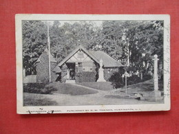 Private Mailing Card  Library Huntington > Long Island  NY   Ref 3328 - Long Island