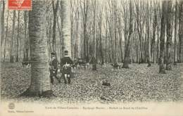 FORET DE VILLERS COTTERETS EQUIPAGE MENIER HALLALI AU ROND DE CHATILLON - Villers Cotterets