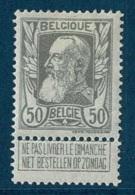 MW-1891  OCB  78 * - 1905 Grosse Barbe