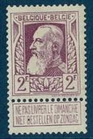 MW-1893  OCB  80 * - 1905 Grosse Barbe
