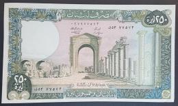 HX - Lebanon 1983 250 Livres, A-UNC - Lebanon