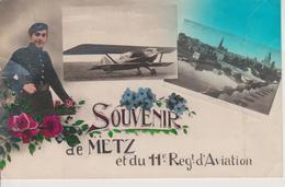 57 - METZ - FRESCATY - SOUVENIR DU 11° RGT. D'AVIATION - Metz